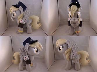 MLP Derpy Hooves Plush (commission) by Little-Broy-Peep