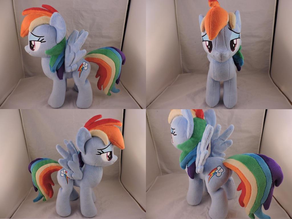 MLP Rainbow Dash Plush (commission) by Little-Broy-Peep
