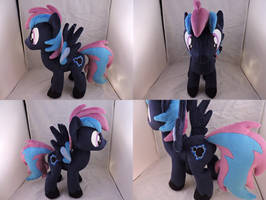 MLP OC Fuzzy Logic Plush (commission) by Little-Broy-Peep