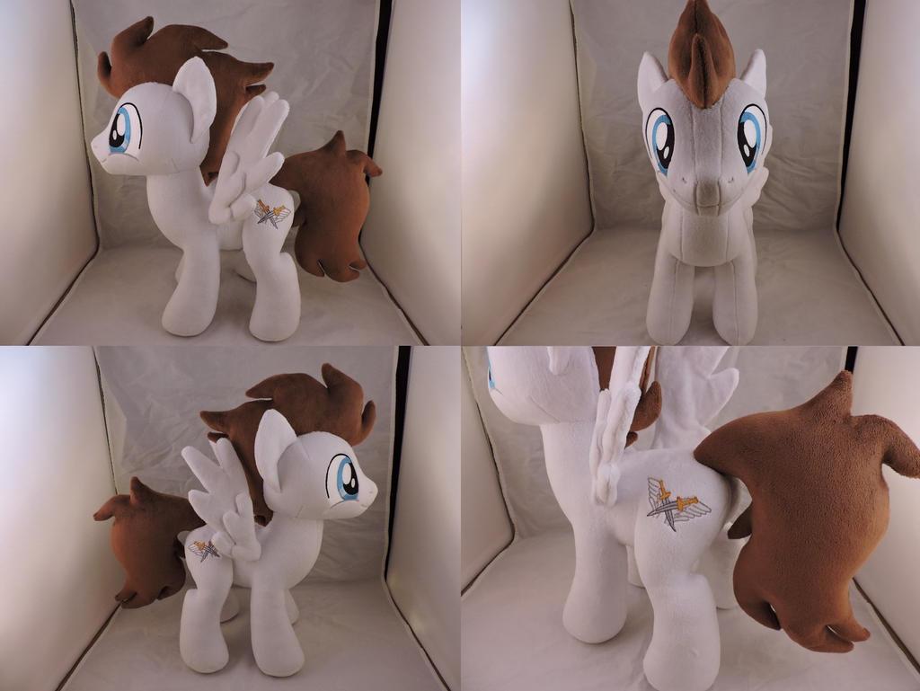 MLP OC Core Plush (commission) by Little-Broy-Peep