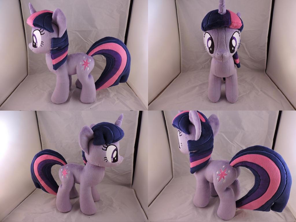 MLP Twilight Sparkle Plush (commission) by Little-Broy-Peep