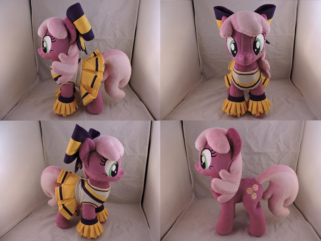 MLP Cheerilee Plush (commission) by Little-Broy-Peep