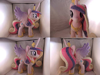 MLP Princess Cadence Plush (commission) by Little-Broy-Peep