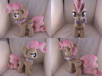 MLP Mayor Mare Plush (commission) by Little-Broy-Peep
