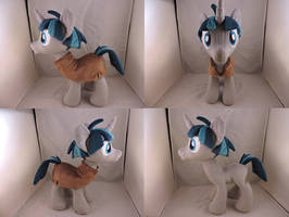 MLP Stygian Plush (commission) by Little-Broy-Peep