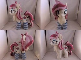 MLP OC Velvet Passion Plush (commission) by Little-Broy-Peep