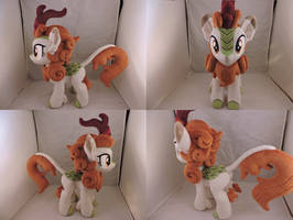 MLP Autumn Blaze Plush by Little-Broy-Peep