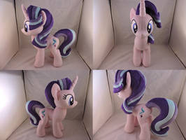 MLP Starlight Glimmer Plush by Little-Broy-Peep