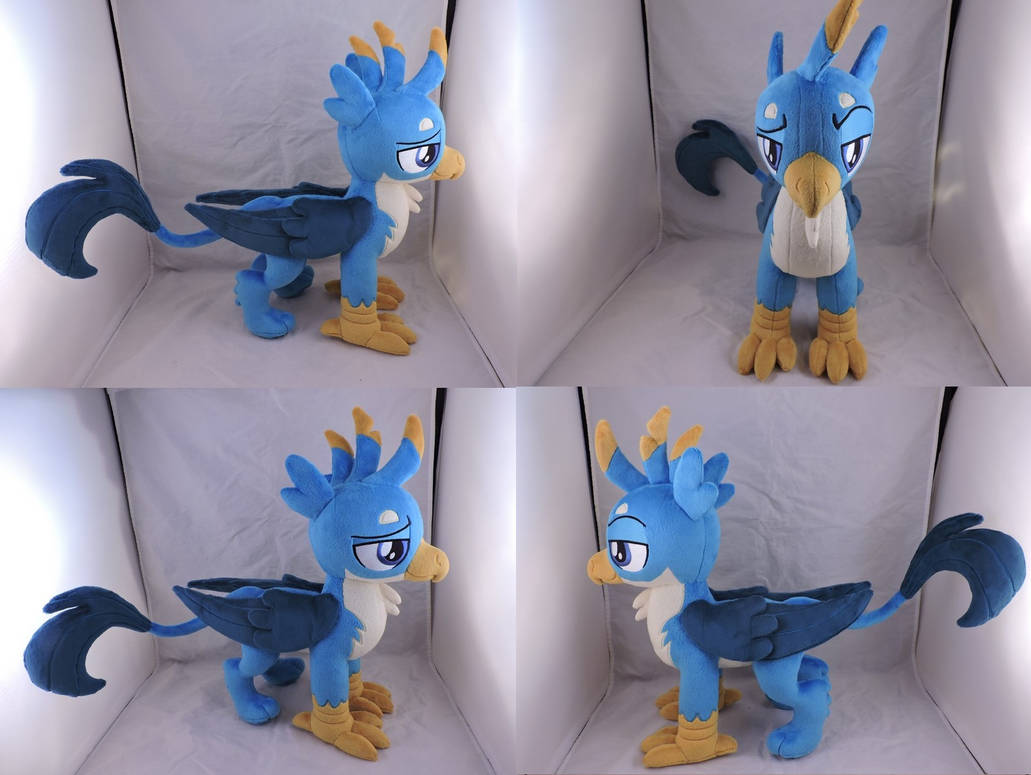 MLP Gallus Plush (commission) by Little-Broy-Peep