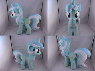 MLP Lyra Heartstrings Plush by Little-Broy-Peep