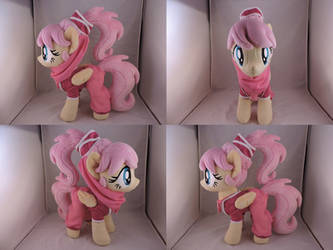 MLP Fluttershy Plush (commission) by Little-Broy-Peep