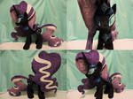 MLP Nightmare Rarity Plush (commission)