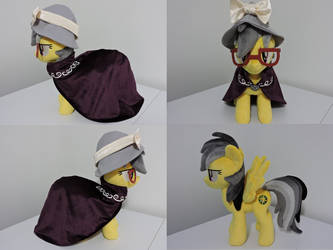 MLP A.K. Yearling/Daring Do Plush (commission)