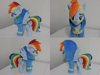 MLP Rainbow Dash Plush (commission)