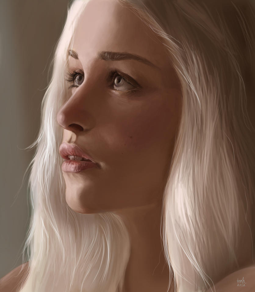 Game of Thrones: Daenerys Targaryen by TiffanyHen