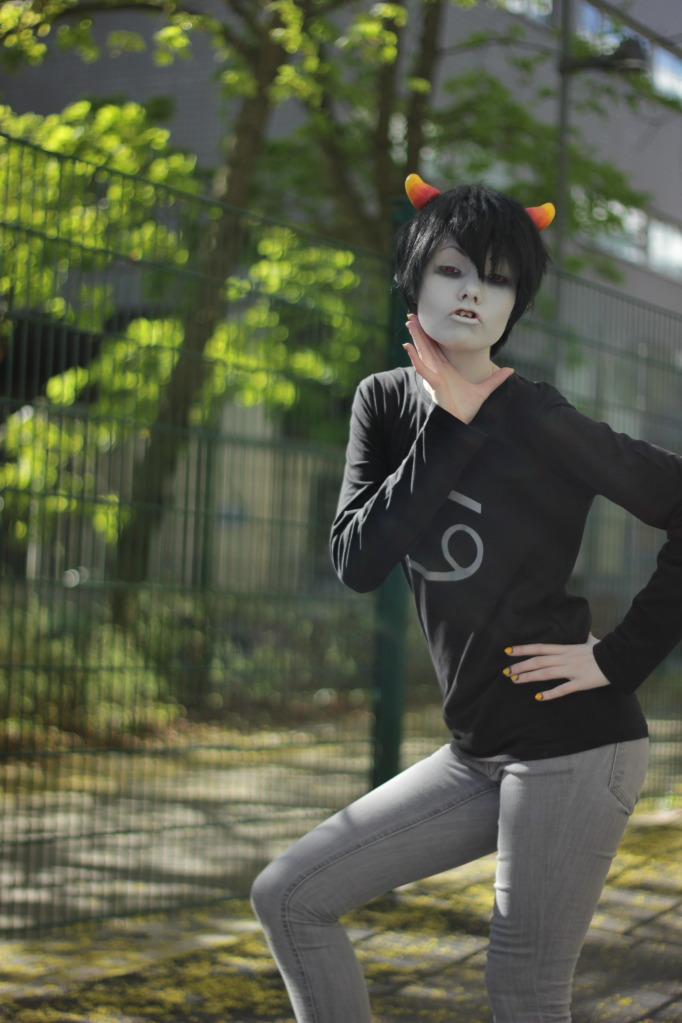 Sassy gay Karkat by felilovespasta