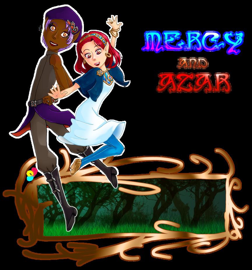 Darcymia: Azar and Mercy by Cat-Of-Energy