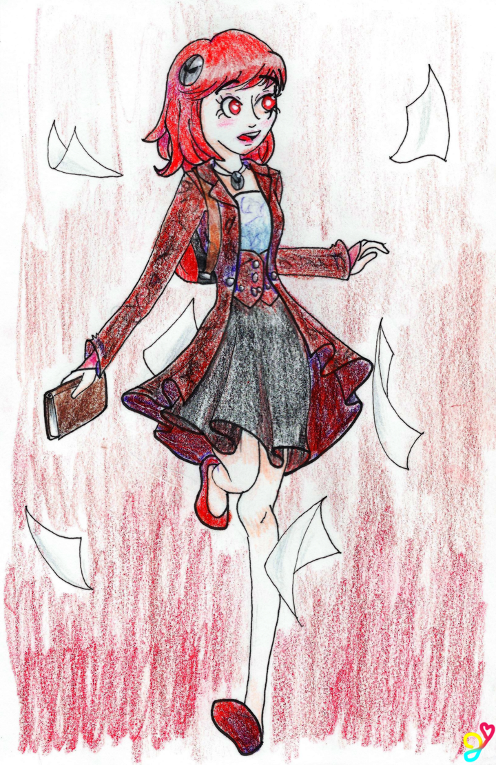 Jack-Lina late pencil by Cat-Of-Energy