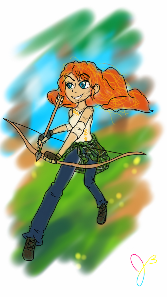 My Merida in Action by Cat-Of-Energy