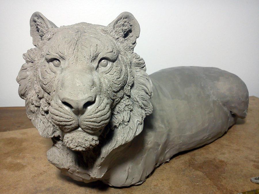 Tiger in Clay by IgorGosling on DeviantArt