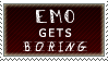 Emo Gets Boring by AzysStamps