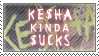 Ke$ha kinda $ucks by AzysStamps