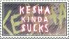 Ke$ha kinda $ucks by AzysStamps
