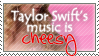 Taylor Swift is cheesy by AzysStamps