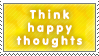 Think Happy Thoughts by AzysStamps