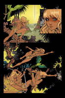 Sheena: Queen of the Jungle - Issue 1 Page 4 by bizarrocasey
