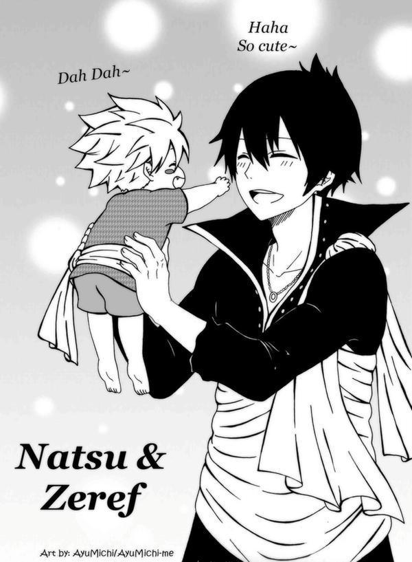 Natsu and Zeref by AyuMichi-me on DeviantArt