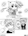 Neko-Lucy and Natsu