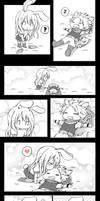 Foxy and Bunny (NaLu) by AyuMichi-me