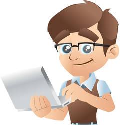 Geek at work by greatdiane