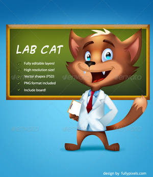Lab Business Cat