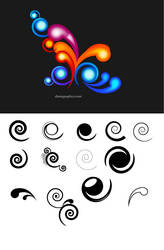 Free Swirls! by greatdiane