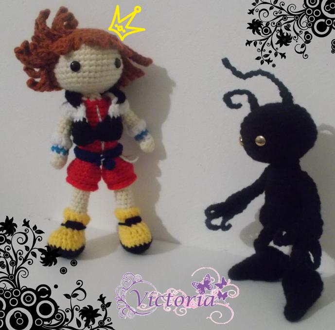 Sora e The Shadow Kingdom Hearts Amigurumi by izayoi0 on ...