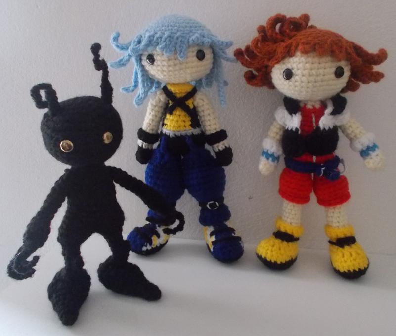 Kingdom Hearts 1 Amigurumi by izayoi0 on DeviantArt