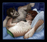 Fuzzy Cuddle by A3ulez