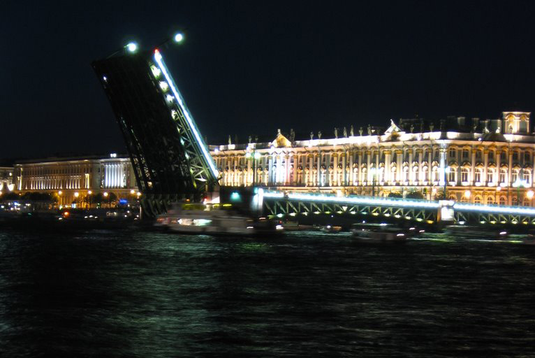 Hermitage at Night by A3ulez