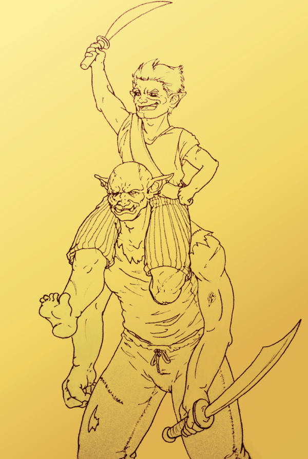 Cornelius and Cro by A3ulez