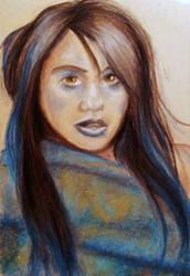 Blue - Pastel Practice by A3ulez