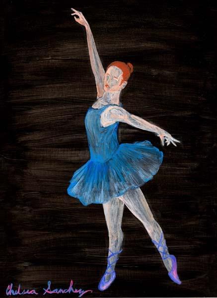 Ballet Dancer by A3ulez