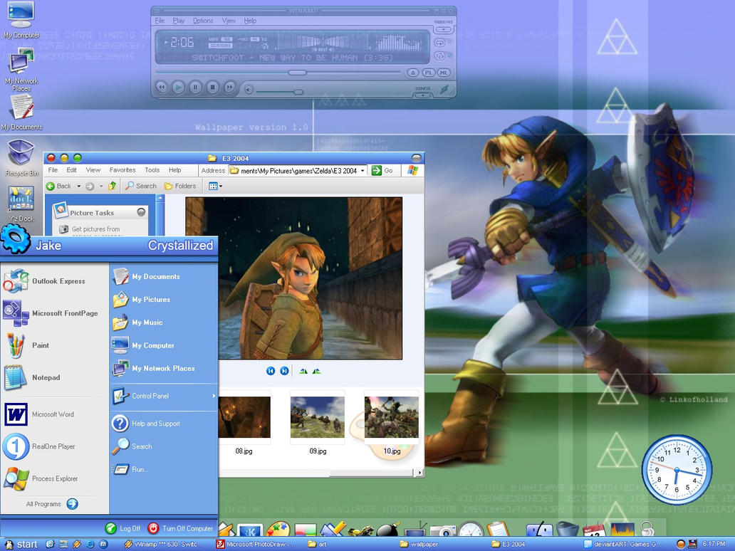 My zelda desktop by gamingexpert13