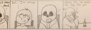 Diffusing the Tension - Undertale Comic