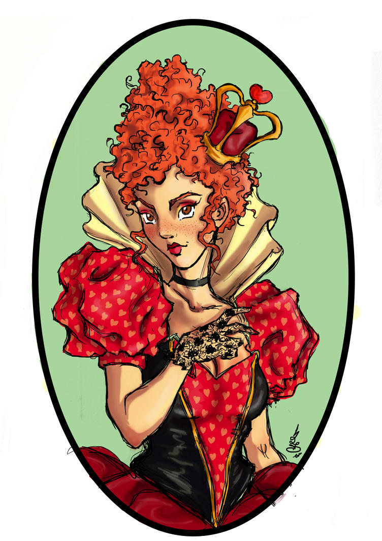 Queen of Hearts by LadyDesiree