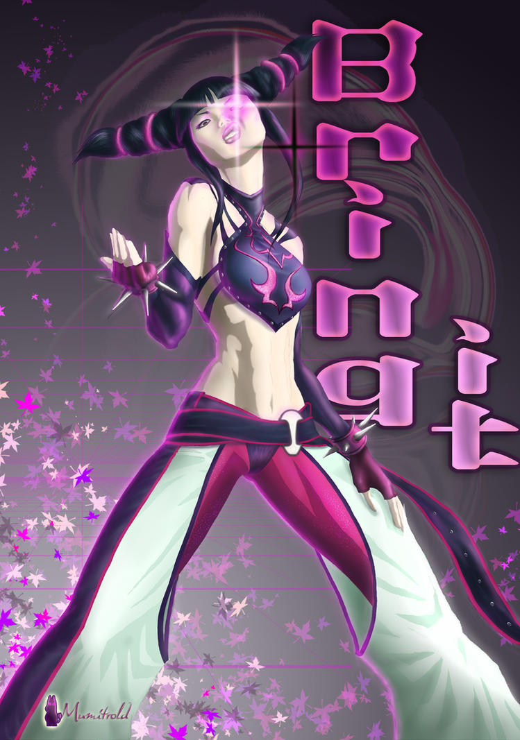 Juri Han for battle-artist by mumitrold