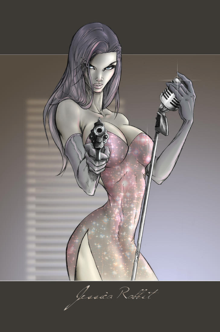 Jessica Rabbit for BA by mumitrold