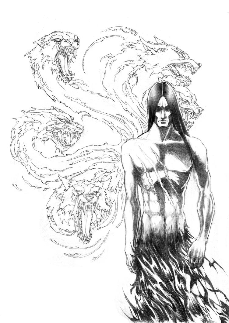 Wolfguy-demon-thingy by mumitrold