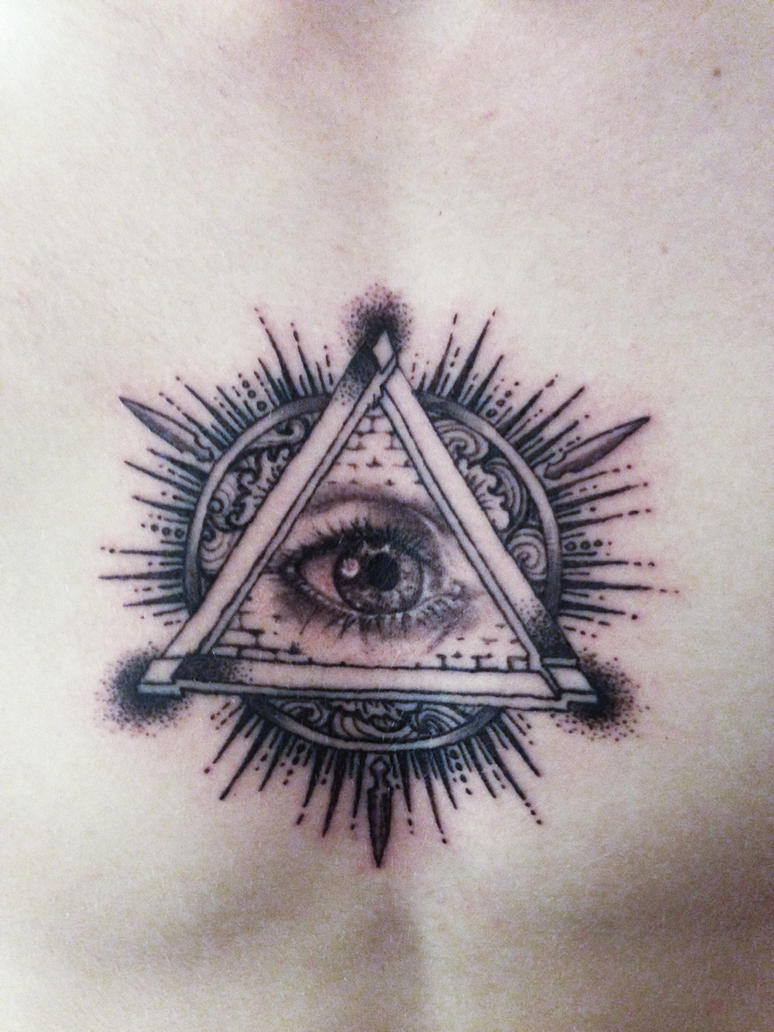 All seeing eye tattoo by mumitrold on deviantart for Eye tattoo art